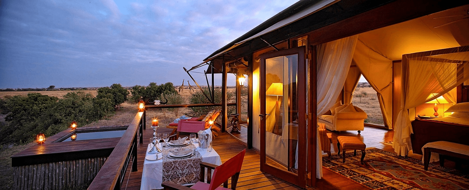 luxury african honeymoon