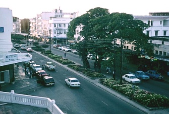 View of Mombasa City