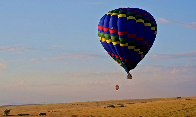 balloon safari kenya