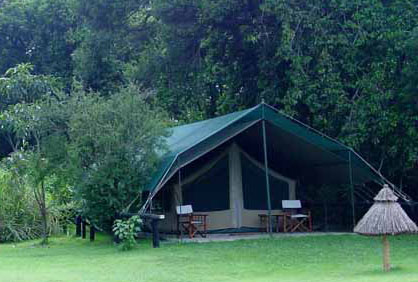 Tented camps in Masai Mara - Governors Camp Picture