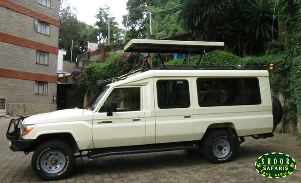 hire safari landcruiser kenya