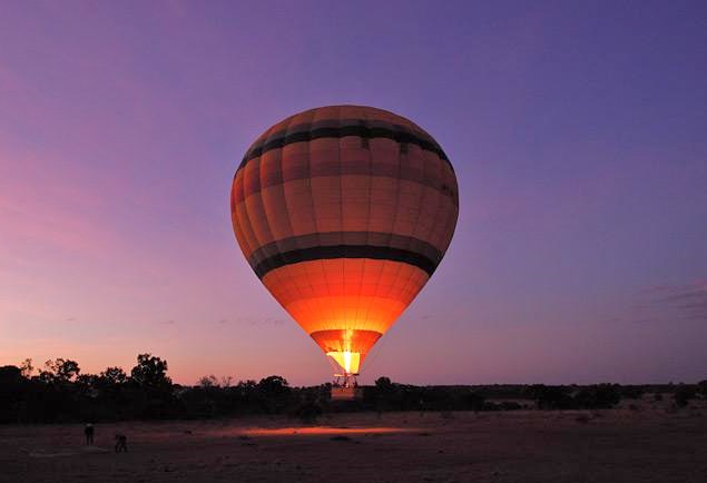hot air balloon ride kenya