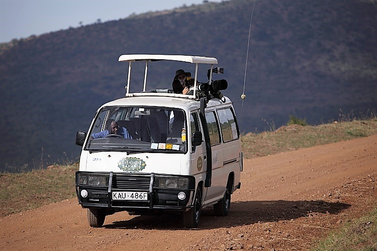 interior tour van kenya