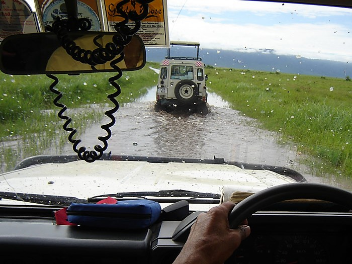 muddy safari roads africa