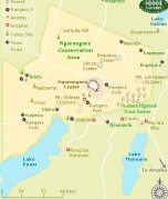 Click to see a Map of Ngorongoro