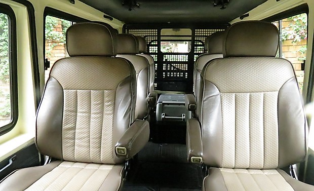 safari landcruiser interior