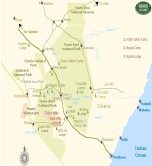 Map of Tsavo